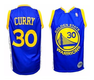 Camiseta Basquet Nba Golden State Warriors Curry Azul