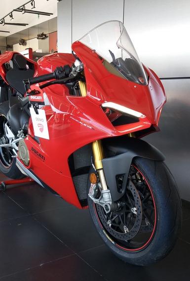 Ducati V4 S Red