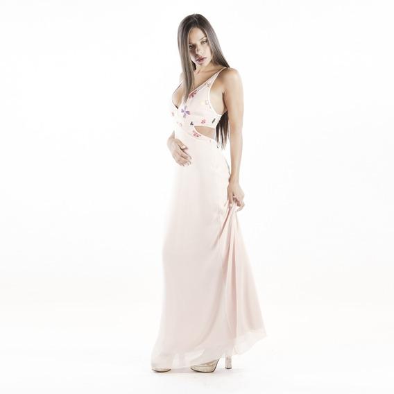 Bello Vestido Sensual Espalda Descubierta Escote Moda Pasion