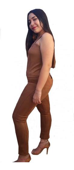 Calça Montaria Croped Plus Size 42 44 46 48 50/52 Caramelo