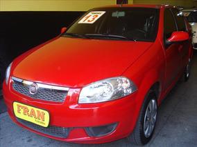 Fiat Siena El Motor 1.0 2013 Vermelho