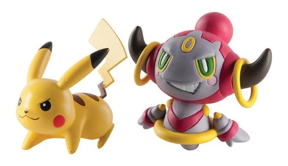 Tomy Pokemon Figure Basic - Pikachu Vs Hoopa Pokemon