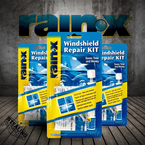 Rain X | Windshield Repair Kit | Rapara Grietas Parabrisas