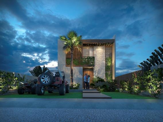 Villa De Playa En Chicxulub Puerto, Yucatan
