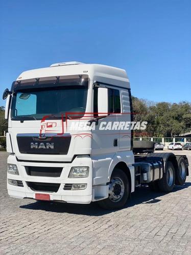 Imagem 1 de 13 de Caminhão Man Tgx 28440 6x2 2018 Único Dono