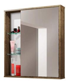 Espelheira Para Banheiro 1 Porta Miami Móveis Bechara Ha