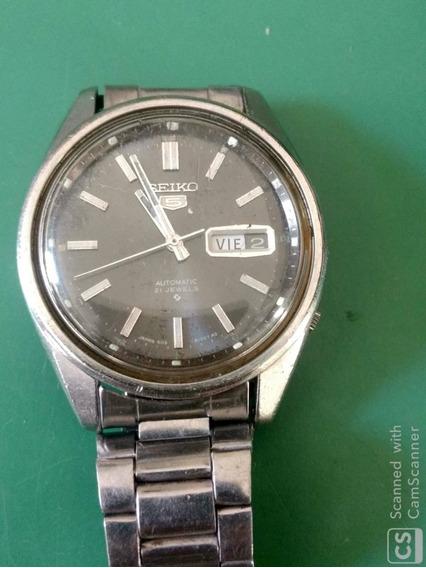 Relógio Seiko 5 6119-8091 Automático Tudo Original 21j