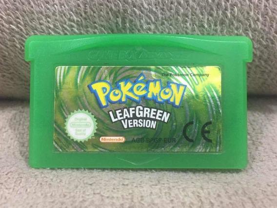 Pokémon Leafgreen Version Gba - Game Boy Advance - Original