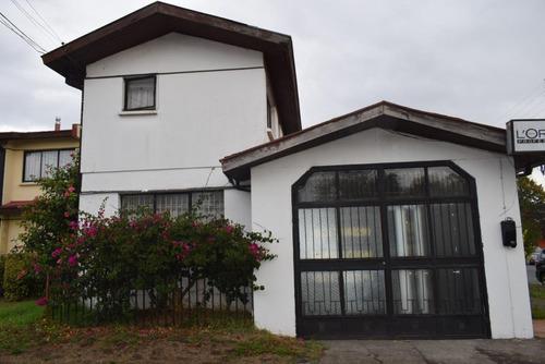 Amplia Y Muy Bien Cuidada Casa En Villa San Pedro De La Paz