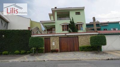 Casa - Sobrado Alto Padrão Vila Matilde - Estuda Permuta - So0059