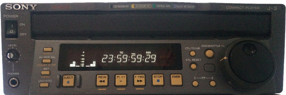 Compact Player Sony J3 (digital Betacam /sp/sx/mpeg Imx)