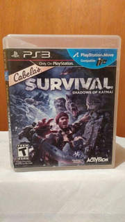 Cabelas Survival Shadows Of Katmai Ps3 Playstation 3 Od.st