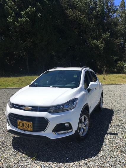 Chevrolet Tracker Blanca 2017 Cara Nueva