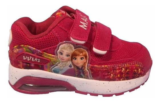 Disney Zapatillas Frozen Con Camara Y Luz Talles 24 Al 27