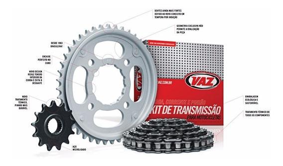 Kit Relação Transmissão Honda Titan 125/fan 125 Vaz