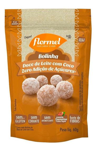 Doce De Leite Com Coco Bolinha Zero Açúcar Flormel