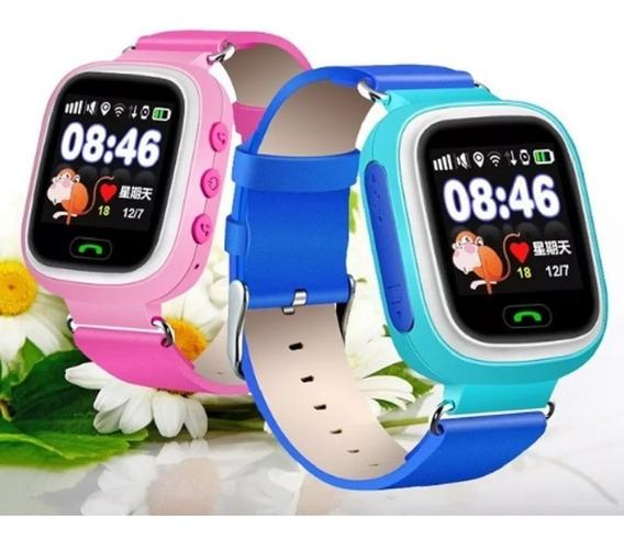Relógio Localizador Rastreador Gps Q90 Criança Idoso Wi-fi
