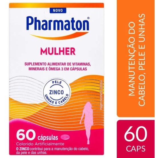 Pharmaton Mulher 60 Capsulas - Sanofi