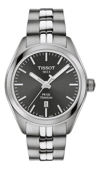 Tissot Pr100 Titaniun T101.210.44.061.00 12x S/ Juros