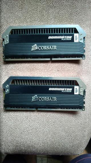Memória Ddr3 Corsair Dominator Platinum 8gb (2x4gb) 1866mhz