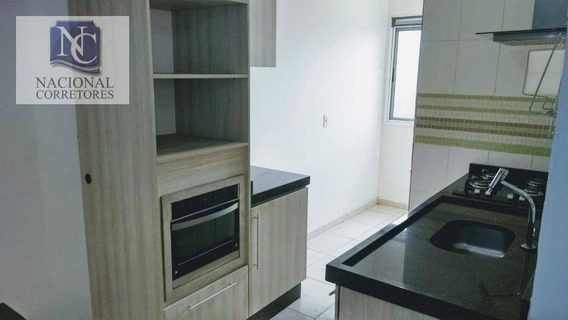 Apartamento Com 2 Dormitórios À Venda, 50 M² Por R$ 210.000,00 - Parque Erasmo Assunção - Santo André/sp - Ap8253
