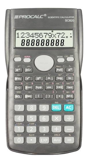 Calculadora Cientifica Sc82p 240 Funções