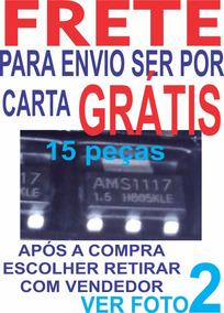 15 Pç Frete Grátis P/carta Ler Ams1117 1117 1,5v Cxx1