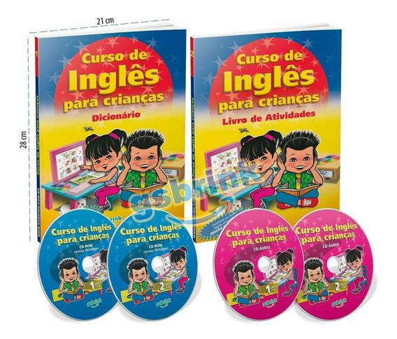 Coleção Aprendendo Inglês Atividades P/ Crianças - Promoção