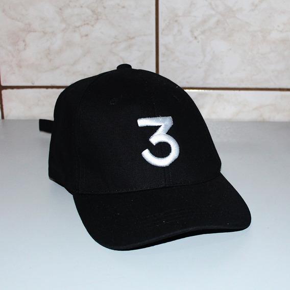 Boné Dad Hat Aba Curva 3 Chance The Rapper Pronta Entrega Sa