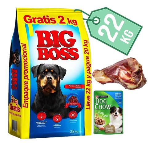 Imagen 1 de 2 de Comida Big Boss 22kg + Regalo
