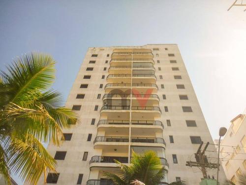 Apartamento À Venda, 190 M² Por R$ 550.000,00 - Tupi - Praia Grande/sp - Ap0986