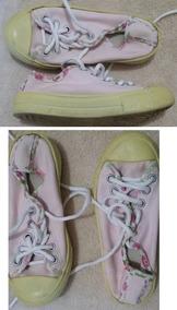 Lote Calçados Menina Tamanho 24 E 25