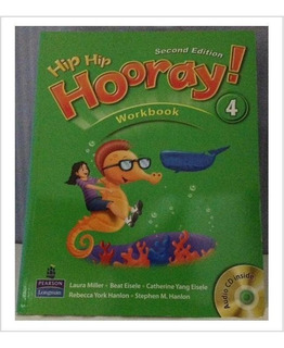 Libro De Inglés Hip Hip Hooray 4 Con Cd