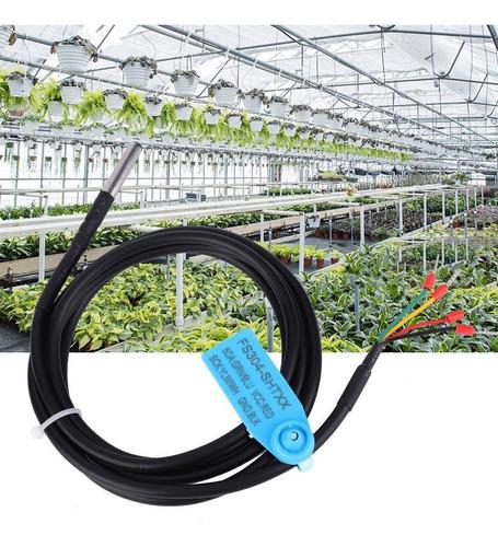 Sonda de sensor de humedad y temperatura digital a prueba de agua Caja de acero inoxidable a prueba de agua SHT30