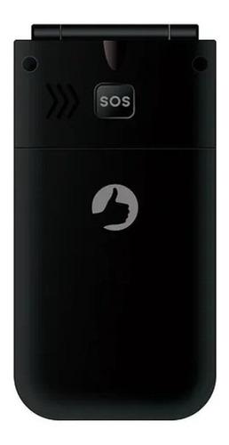 Imagem 1 de 4 de Positivo Flip P50 Dual SIM 32 MB preto 32 MB RAM