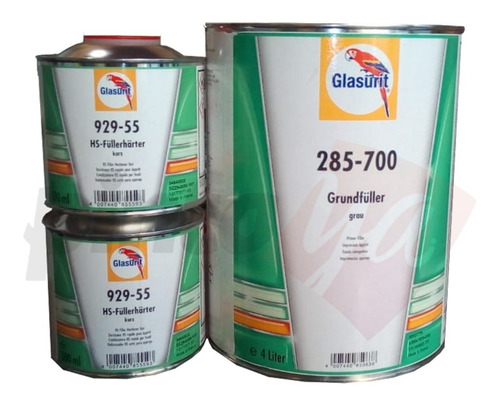 Combo Primer 285-700 + Catalizador 929-55 Glasurit 5 Lts.