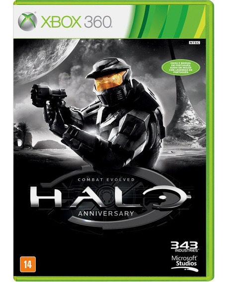 Halo Combat Envolved Anniversary - Xbox 360 - Novo