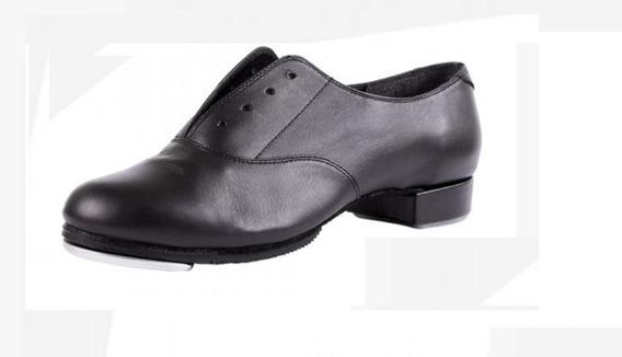 Zapato Para Hombre Mujer Jazz De Danza Tap Claqué Piel