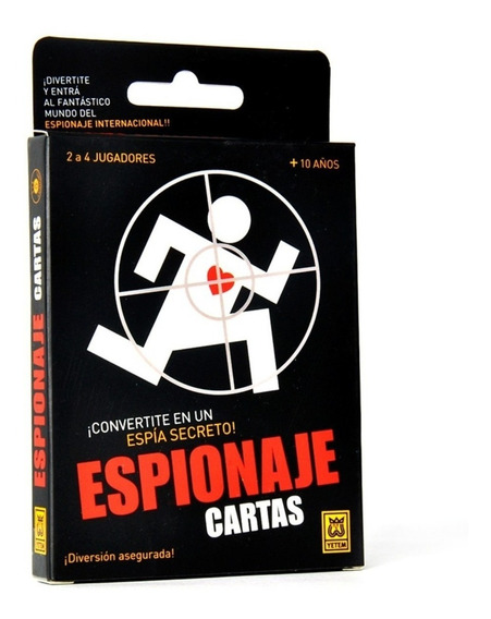Espionaje Juego De Cartas Espia Secreto Yetem Full