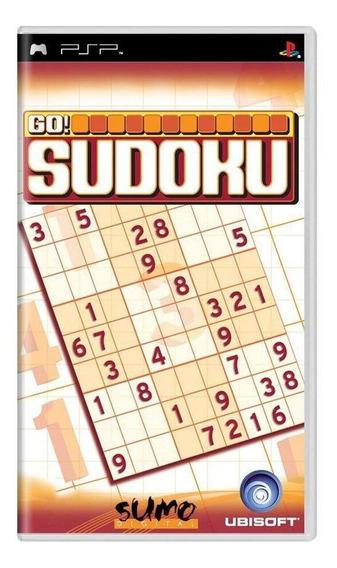 Go! Sudoku Psp Mídia Física Pronta Entrega