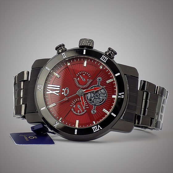 Relógio De Aço Barato Em 12x Sem Juros