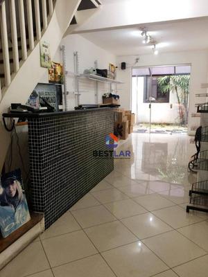Sobrado Com 1 Dormitório Para Alugar, 140 M² Por R$ 6.000 - Jardim Paulista - São Paulo/sp - So0901