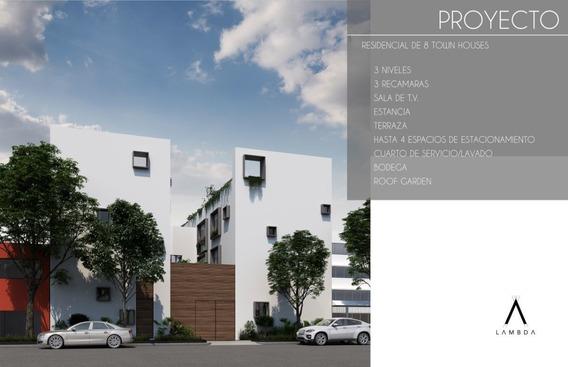 Del Valle, 8 Increibles Town Houses En La Mejor Ubicación, En Venta