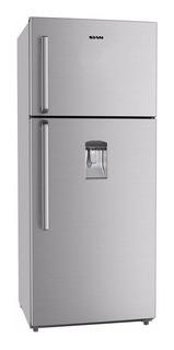 Heladera no frost Siam HSI-NT30 gris con freezer 404L 220V