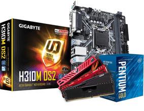 Kit Intel Pentium G5400 Mb H310m Ds2 4gb Ddr4 2400mhz