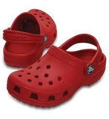 Crocs Rojas