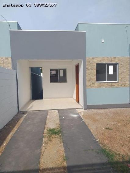 Casa Para Venda Em Várzea Grande, Paiaguas, 2 Dormitórios, 1 Suíte, 1 Vaga - 232_1-1321445