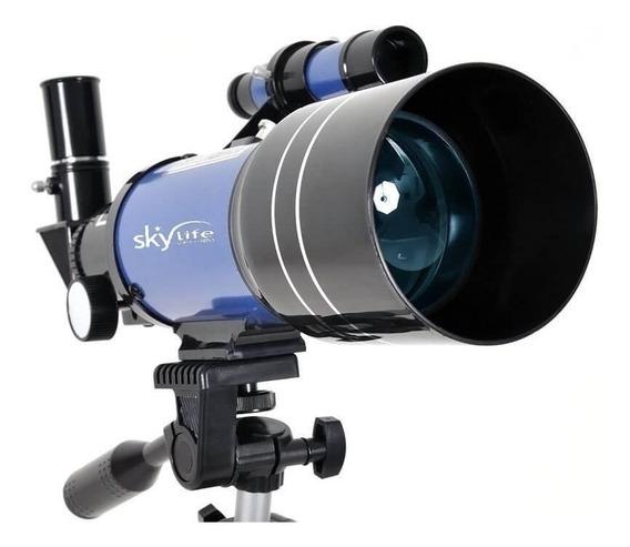 Telescópio Refrator Tycho 70mm Astro-terrestre + Cd Rom