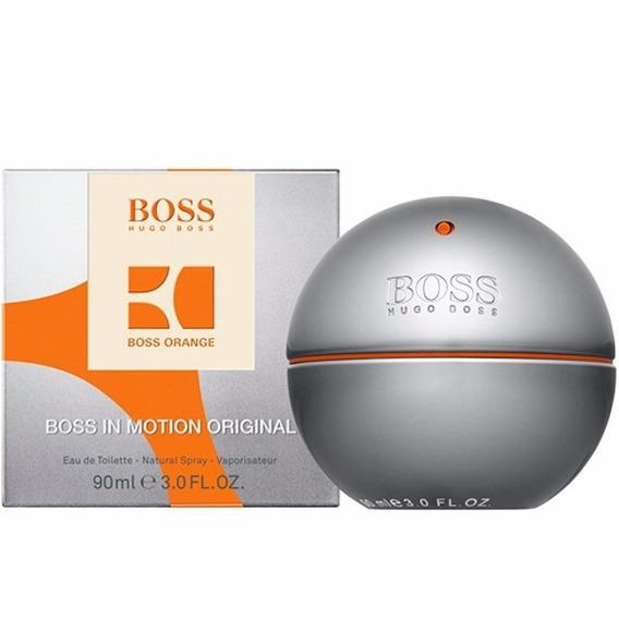 Perfume Boss In Motions Eau De Toilette 90 Ml*envio 24hs