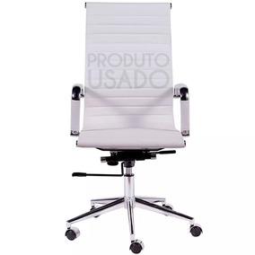 Usado Cadeira Escritório Presidente Couro Eames Esteirinha